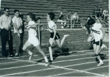 Canton Girl's track team finishing