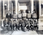 Canton High School basketball team 1950