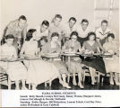 Flora High students, 1956