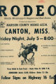 Rodeo, Middle Mississippi's biggest and best rodeo