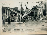 Tornado damage 1976: Arthur's Shell Station