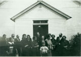 Sharon Methodist Church and members of Sharon Circuit 1967: Sharon, Miss.