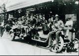 Group on truck, about 1930