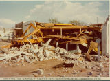 Looking SE Canal and Peace Street tornado 1976: Canton, Miss.