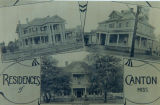 Residences of Canton postcard