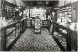 Interior of Hammack & McDowell Drug Store
