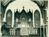 Grace Episcopal Church altar, Peace Street