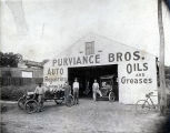Purviance Bros. auto shop, W. Peace Street