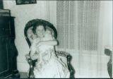 Unidentified lady with baby