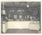 Display of artwork created by PWs; circa 1940-1945