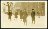 Snow At Mississippi State College For Women; 1923