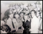 Elvis Presley with Mississippi Highway Patrolmen, Tupelo, Mississippi, 1956
