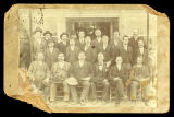Businessmen and store merchants in Iuka, Mississippi, March 16, 1901