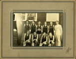 Girls' Basketball Team of the Tishomingo County Agricultural High School, Tishomingo, Mississippi,...